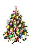 Decorated christmas tree - 232921184