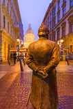 Statue of Policeman in Budapest Hungary - 232921185