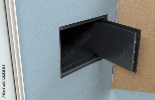 Open Hidden Wall Safe Behind Picture Buy Photos Ap Images