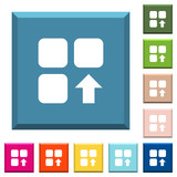 Move up component white icons on edged square buttons - 232950177