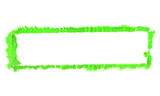 Schmutziger grüner Pinsel Rahmen - 232954758
