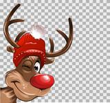 Rudolph transparenter Hintergrund