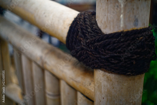 Technik des Bambus