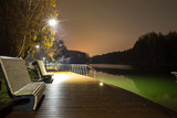 Night embankment of the river - 233001564