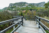 Wooden bridge in Krka National Park,Croatia - 233005538