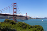 View to Golden Gate bridge