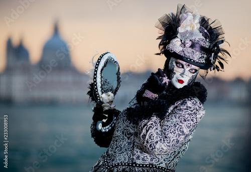 fototapeta na ścianę maschera carnevale di Venezia