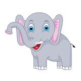 cute vector elephant