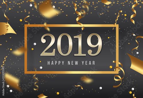 new years 2019 happy new year greeting card 2019 happy new year background