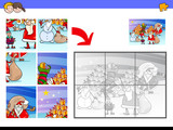 jigsaw puzzles with Christmas characters - 233026931