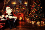santa claus with gifts - 233061306