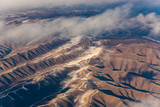 view from the aircraft to the mountains of the Himalaya on Chinese Tibetan side snow - 233064187