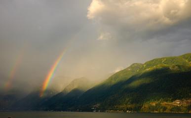 Howe Sound Rainbow © Conrad