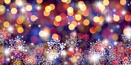 Fridge magnet クリスマスの背景