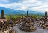 Borobudur Buddist Temple - island Java Indonesia - 233151908