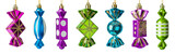 Candy sweets - christmas tree toys - 233151946