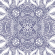 Abstract Seamless pattern  in Zen tangle or Zen doodle style black and white for coloring page or for relax adult coloring book or for decoration different things - 233152712