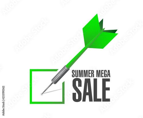 lato mega sprzedaż Koncepcja zatwierdzenia dart wiadomość koncepcja