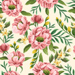Seamless pattern with flowers - 233212334