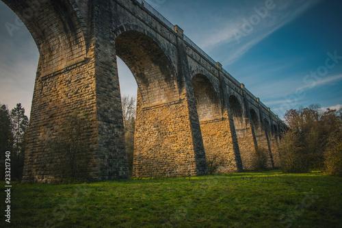 Medieval Aqueduct  in Scotland Avon Aqueduct Second Highest Aqueduct Ancient Brick construction Scottish Architecture