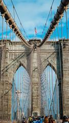 Color Brooklyn Bridge
