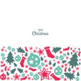 Merry Christmas icon Chrictmas design made in vector - 233235166