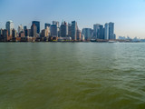 Lower Manhattan Island, New York from the Hudson River - 233239737