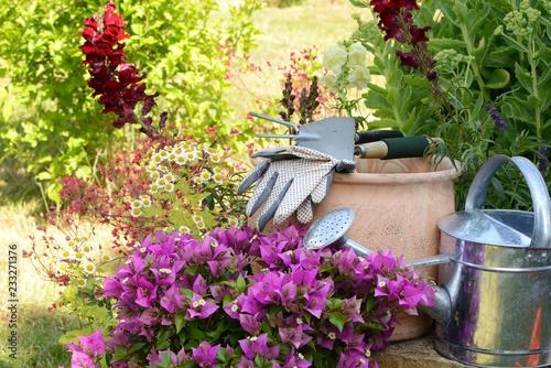 Sticker Garten 840
