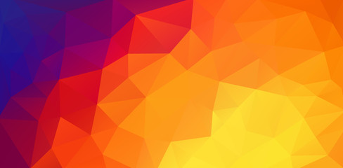 Abstract 2D triangle background with triangle shapes