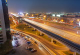night scene in Dubai city, UAE - 233276978