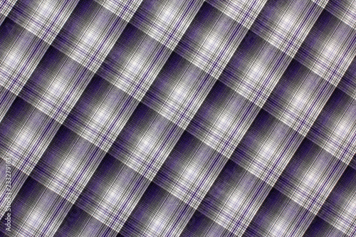 Naklejka Texture cotton colored fabric. Background abstraction factory textile material close up. For tailoring