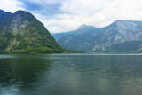 Scenery at Grundlsee lake in Alps mountains, Austria - 233282381