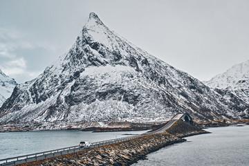 Fredvang Bridges. Lofoten islands, Norway © Dmitry Rukhlenko