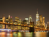 ニューヨーク マンハッタン 夜景 © oben901