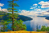 Scenic view of Maple Bay in Vancouver Island, BC - 233294789