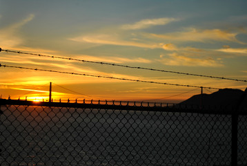 Golden Gate View from Alcatraz Island © Fernando