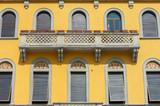 exterior of classic architecture in lake Como, Italy - 233328975