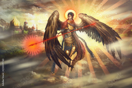 Saint Michael the Archangel © vukkostic