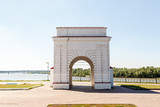 Russia, Omsk. Omsk fortress, Irtysh gate - 233362994
