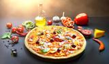 Delicious Italian Pizza - 233366929