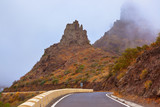 Famous canyon Masca in fog at Tenerife island - Canary - 233377587