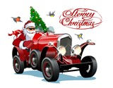Vector Christmas Greeting Card with Christmas lettering - 233381788