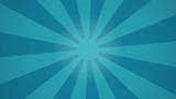 Arrière-plan rayon de soleil tournant bleu (boucle) - 233388593