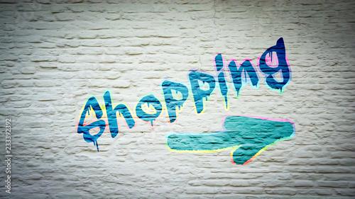 Schild 397 - Shopping