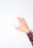 fire alarm sensor in hand - 233393138