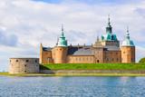 Kalmar castle on a sunny summer day close-up, Sweden. - 233399580