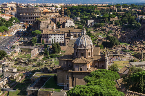 Kościół świętych Luca i Martina w Rzymie, Włochy