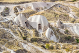 landscape of rocky formation in cappadocia - 233417106