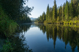 Clear and quiet river - 233420545