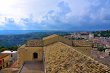 panorama of the historic center of Modica Sicily Italy - 233427741